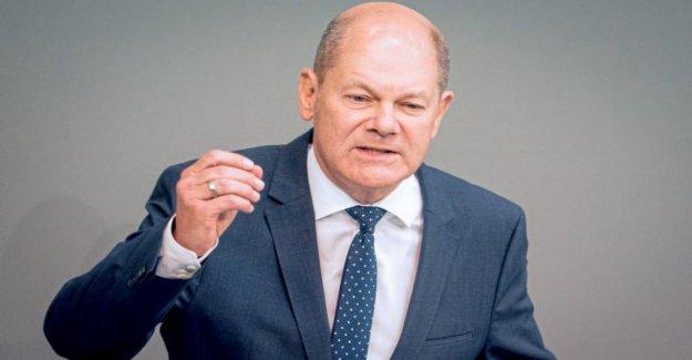 Le ministre des finances allemand Olaf Scholz sur la protection du Climat Parce que nous le pouvons