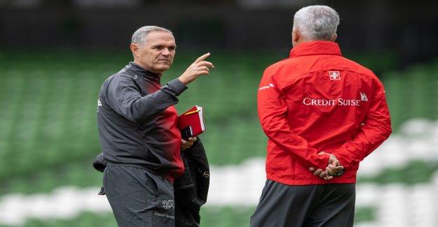 L'équipe nationale suisse: Pierluigi Tami pouvoir Coach Petkovic Pression de Vue
