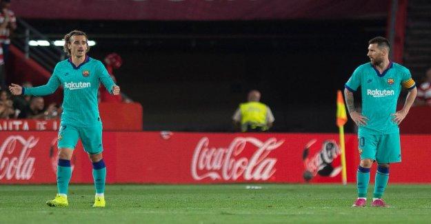 Liga: le FC Barcelone déshonoré au FC Grenade