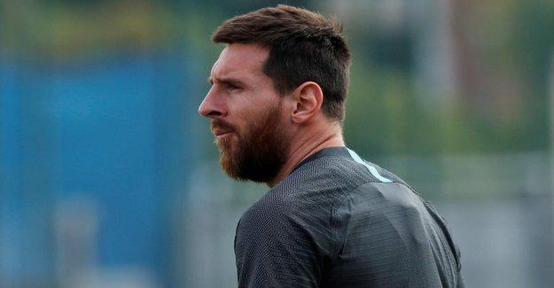 Ligue des Champions: Messi en forme, mais contre le BVB, probablement, ne Joker