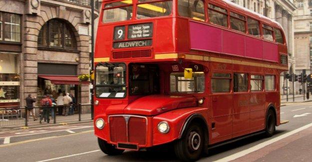 Londres: les Bus à deux étages, Fabricant de Wrightbus est en faillite