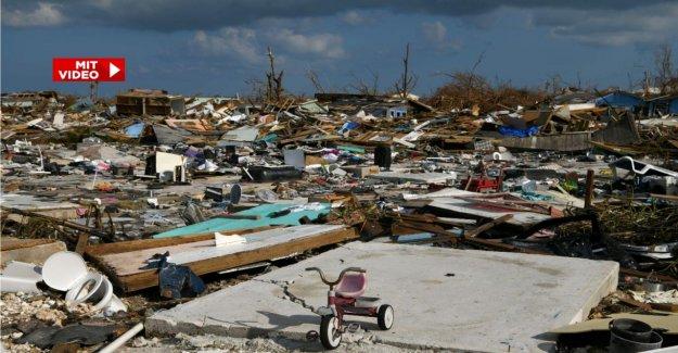 L'ouragan Dorian: Encore 2500 Disparus aux Bahamas
