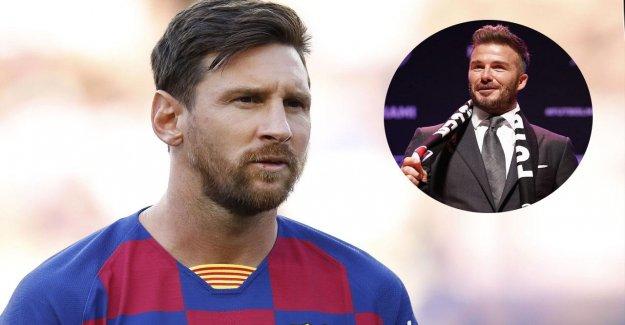 MLS: Veut David Beckham Lionel Messi à Miami boucles?