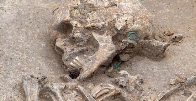 Magdebourg: Sept Squelettes sur Polizeigelände découvert