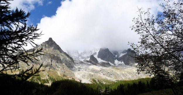 Mont-Blanc: des Glaciers menace en raison du Réchauffement de s'effondrer