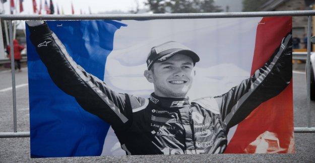 La famille du sport automobile rend un dernier hommage à Anthoine Hubert