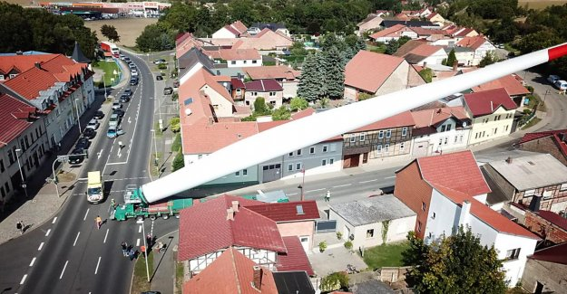 Mulhouse: Voici un 74 Mètres de long Éolienne-Ailes