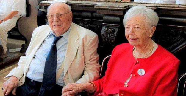 Munich: Charlotte et Louis Piller, depuis 80 Ans, marié