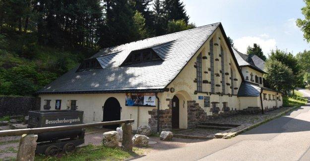 Patrimoine de l'humanité fermé! - Altenberg absence de Guide pour la Mine