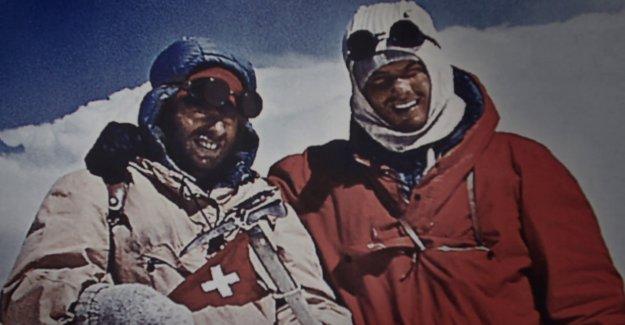Peter Diener montait le Premier, le Dhaulagiri (8167 m) - Vue