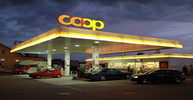 Possibilité de covoiturage: Coop réseau de Stations-service s'adresse à nouveau à partir de la Vue à