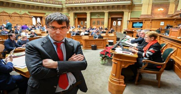 SP-Démocrate Nordmann, l'UDC veut dépasser, Vue