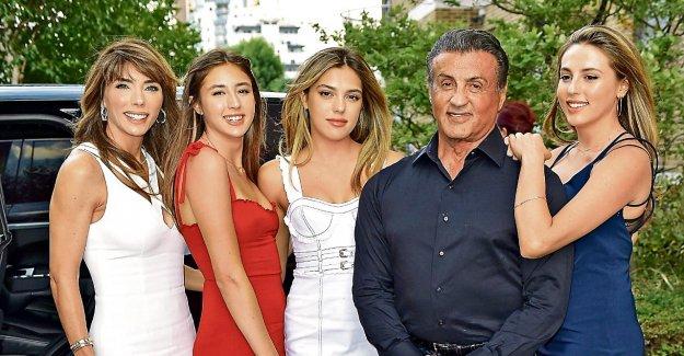 Sylvester Stallone: le Travail Le plus difficile, ce sont mes Filles