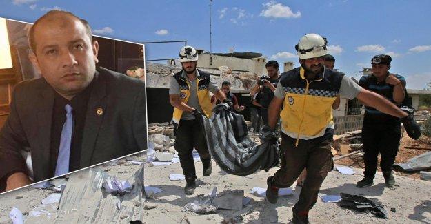 Syrie – Chef des casques blancs accuse: Les Russes nous attaquent avec des Avions de combat à