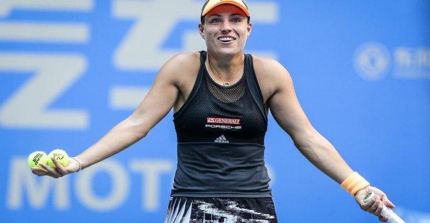 Tennis: Angelique Kerber vole à Wuhan, dans une Ronde contre Puig à sortir
