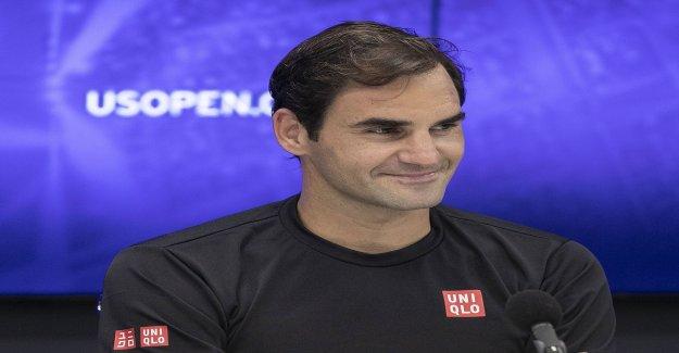 Tennis: Federer montre le Fils de l'Bikefahren - Vue