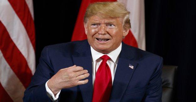 Trumps en Zigzag Cours dans la Dénonciation Affaire - Vue