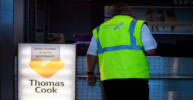 Une déclaration de faillite: allemand Thomas Cook est en faillite