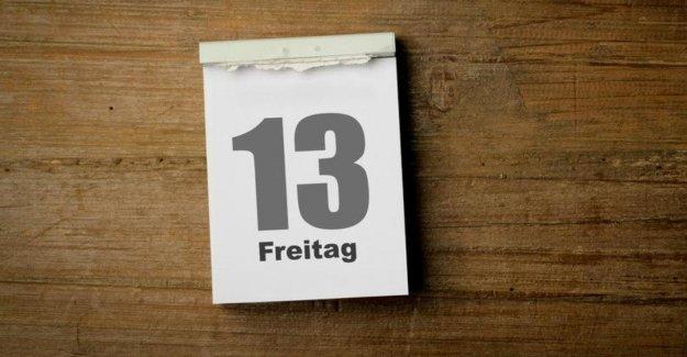 Vendredi, le 13.: Pourquoi nous, avant cette date, (non!) frissonner doivent