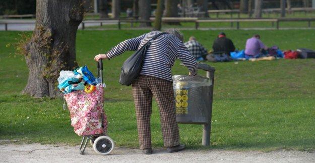 Vue vers l'An 2039: Plus d'un cinquième des Retraités de la Pauvreté des personnes âgées menacées