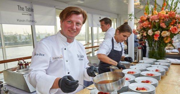 100 meilleur Chef de France - Kevin Fehling est le meilleur Cuisinier de Hambourg