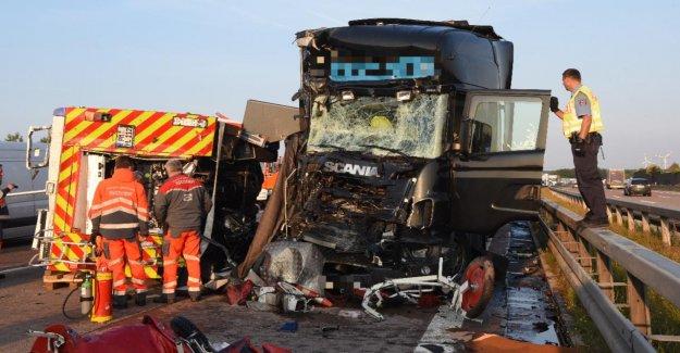 Accident mortel sur l'A2: Prison pour les Chauffeurs de Camion, les Pompiers, totfuhr