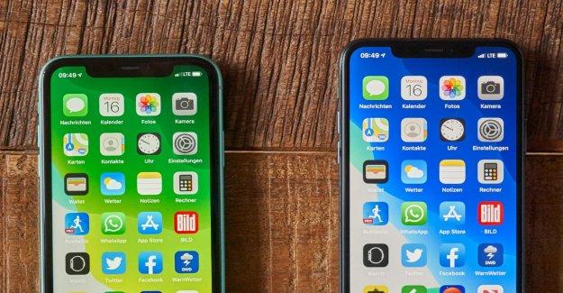 Apple: des Rumeurs sur Internet des rapports de l'iPhone sans Notch