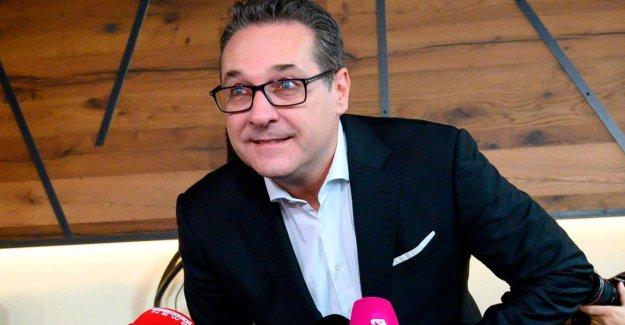 Autriche: le FPÖ, après Wahlklatsche l'Ex-Chef de Heinz-Christian Strache froid