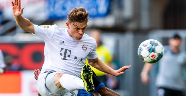 Bayern: Pression de Joshua Kimmich: Le derrière de l'Annonce de la Boss