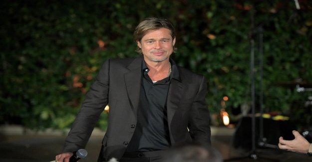 Brad Pitt avec la Guérisseuse, de la Télévision par Hari Khalsa ensemble? - Vue