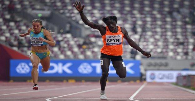Championnats du monde d'athlétisme: Intersexuées demande Mujinga Kambundji - Vue