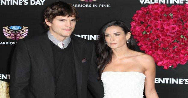 Demi Moore faim après l'Affaire Ashton Kutcher - Vue