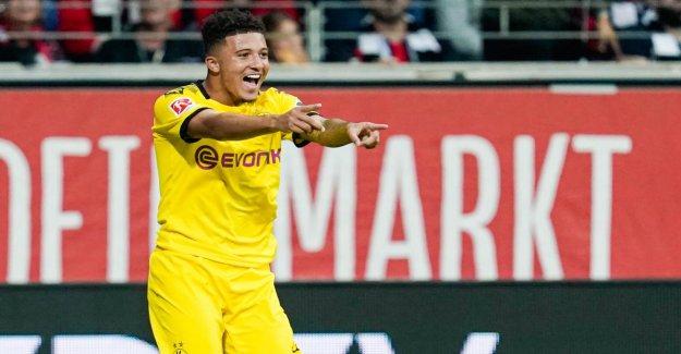 FIFA 20: BVB-Star Jadon, Sancho se plaint, en raison de Cheveux et de Tatouage