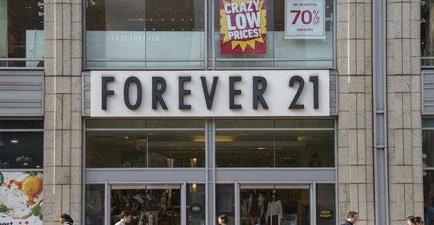 Forever 21 la faillite de: états-unis-à Bas prix-l'Enseigne ferme jusqu'à 350 Magasins dans le monde entier
