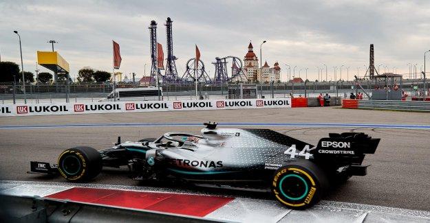 Formule 1 GP de Russie: 3. Entraînement à Sotchi en bref - Vue