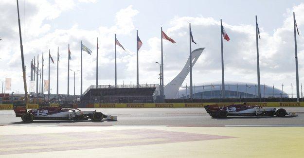Formule 1 GP de Russie: Jour Noir pour Alfa-Propre à Sotchi