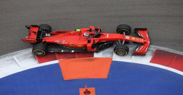 Formule 1 GP de Russie: Leclerc apporte la quatrième Pole position dans la Série Vue