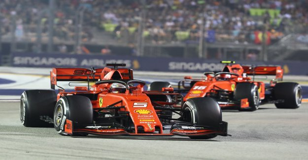 Formule 1: Roule en Ferrari à Sotchi pour la quatrième Victoire consécutive? - Vue