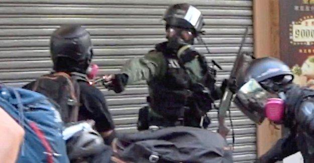 Hong kong: la Police tire sur des Manifestants
