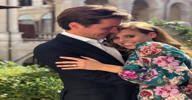 La princesse Beatrice et Edoardo Mapelli Mozzi sont engagés Vue