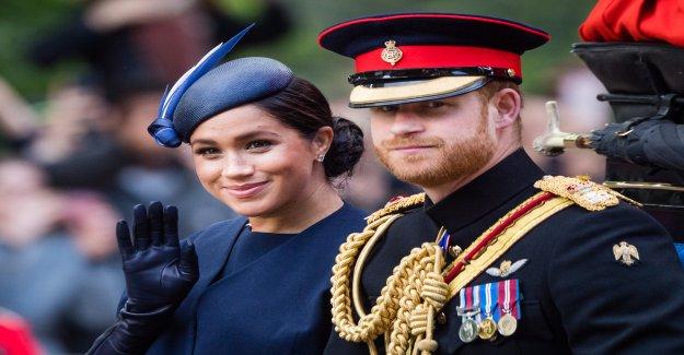 Le prince Harry et la Duchesse de Meghan poursuivre en justice le Journal britannique - Vue