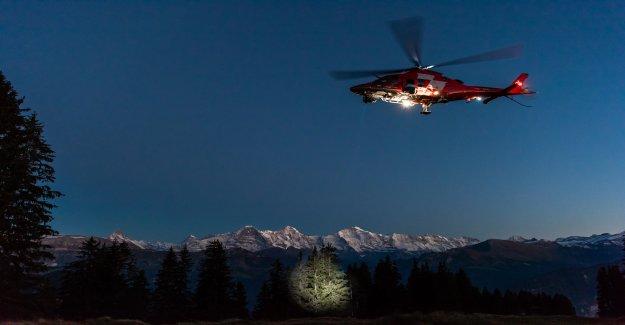 Les vols de Nuit et Brouillard: Large Alliance pour la Rega - Vue