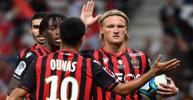 Ligue 1: Nice met Nachwuchsprofi après le Vol de Dolbergs Montre de Luxe libre
