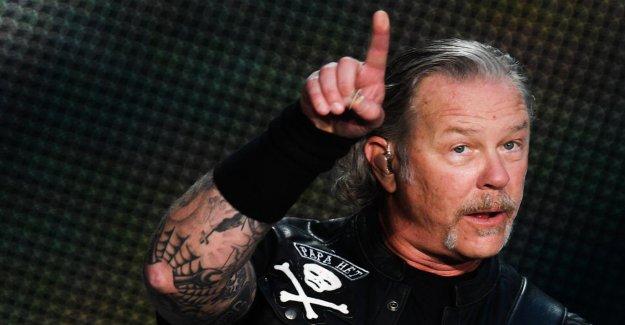Metallica dire Tour à partir de: James Hetfield – être la Lutte contre la Dépendance