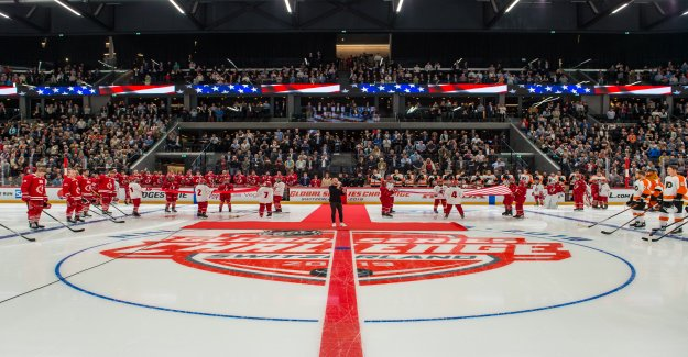 NHL Global Series: Lausanne désenchanté Philadelphie - Vue
