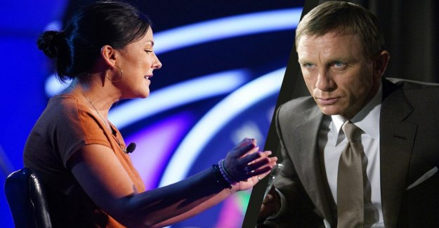 Qui veut gagner des millions: le Candidat le jour avec James Bond devant la Caméra