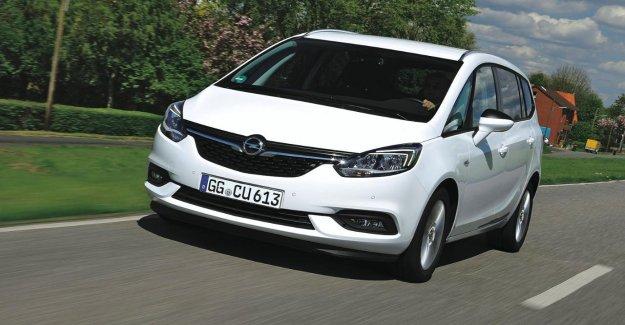 Rappel pour Opel Zafira et Crossland X: Près de 90 000 Voitures concernées