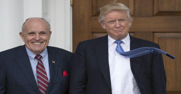 Rudy Giuliani: Ukraine-Affaire pourrait Trumps Avocat accabler - Vue