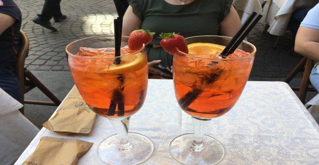 Touristes Arnaque à Milan (I): 70 Euros pour Aperol Spritz - Vue