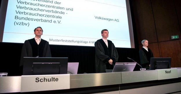 VW Processus en raison de gaz d'Échappement de Scandale: le Juge rend VW Demandeurs d'Espoir